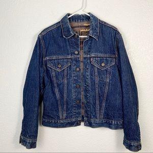 Vintage Levi's Troy Blanket Denim Jacket Big E